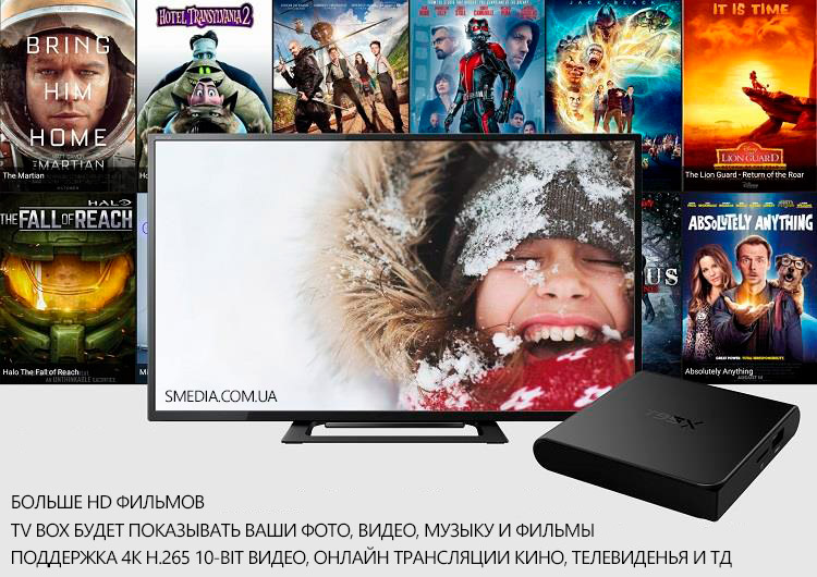 android smart tv T95X