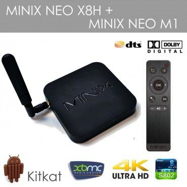 Android TV box (Mini PC) Minix Neo X8-H / Minix Neo X8